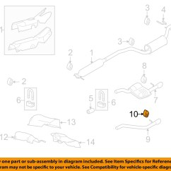 Ford Focus Exhaust System Diagram 2007 Tundra Wiring 2008 2009 2010 Workshop Manual