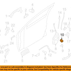 Ford Focus Door Parts Diagram Sdlc Life Cycle 08 11 Front Latch Retainer Clip