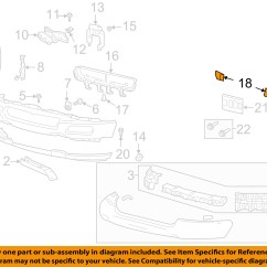 2005 Ford F 150 Front Bumper Diagram Cub Cadet Wiring Lt1050 Oem 04 05 Cover Plate Right