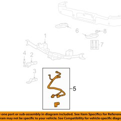 2005 F150 Trailer Wiring Diagram Air Brake Tractor Oem 7 Pin Connector To Harness 05 07 Ford F