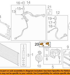 ford oem a c condenser compressor lines seal kit dl3z19b596b [ 1500 x 1197 Pixel ]