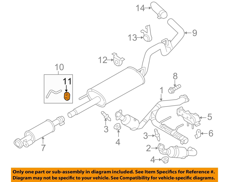 2003 ford escape exhaust system diagram trailer 7 pin wiring australia f 150 auto parts