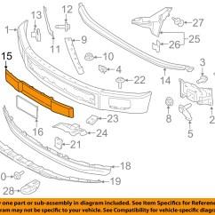 2005 Ford F 150 Front Bumper Diagram 18 Hp Intek Engine F150 Body Parts Circuit Maker