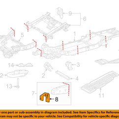 Parts Of A Window Frame Diagram Wiring For Aftermarket Power Windows Ford Oem 15 16 F 150 Mount Bracket Right Fl3z17n775h