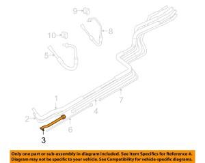 FORD OEM 0814 E350 Super Duty 54LV8 Rear Ac LinesAc Tube CC2Z19867A | eBay