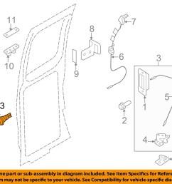 13 on diagram only genuine oe factory original item [ 1500 x 1197 Pixel ]
