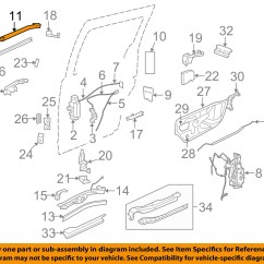 Honda Odyssey Sliding Door Parts Diagram Wiring For Gooseneck Trailer Plug Chrysler Oem Side Track 68064660ad