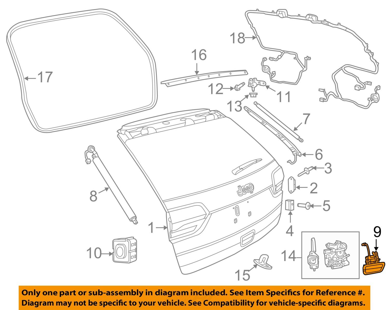 2005 jeep grand cherokee parts diagram 7 pin plug wiring uk liftgate latch free engine