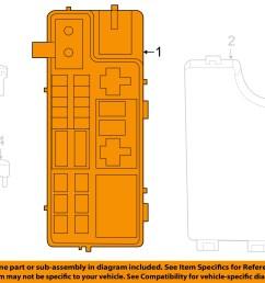 jeep chrysler oem 2007 compass 2 4l l4 fuse box module [ 1500 x 1197 Pixel ]
