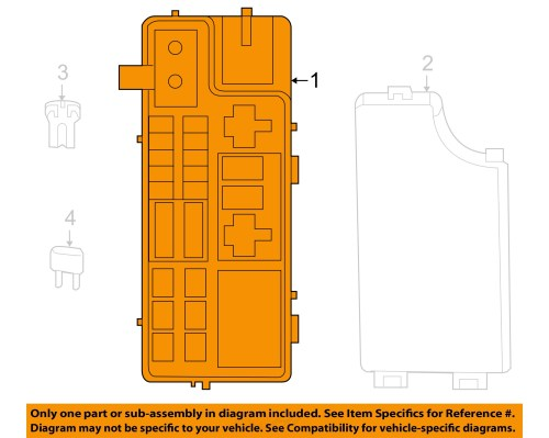 small resolution of jeep chrysler oem 2007 compass 2 4l l4 fuse box module