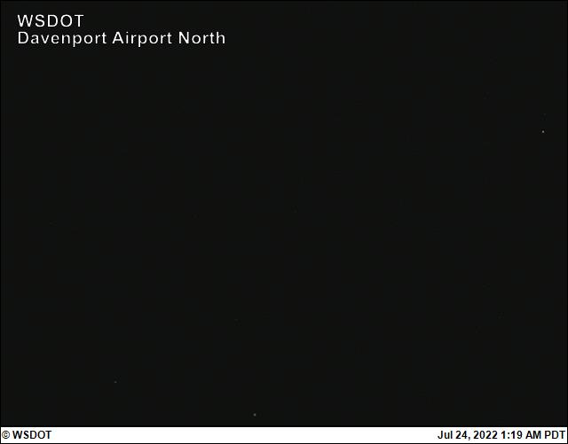 Davenport Municipal Airport web cam image enlargement - North view