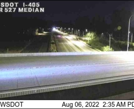 Bothell-Everett Highway, i-405 median traffic camera