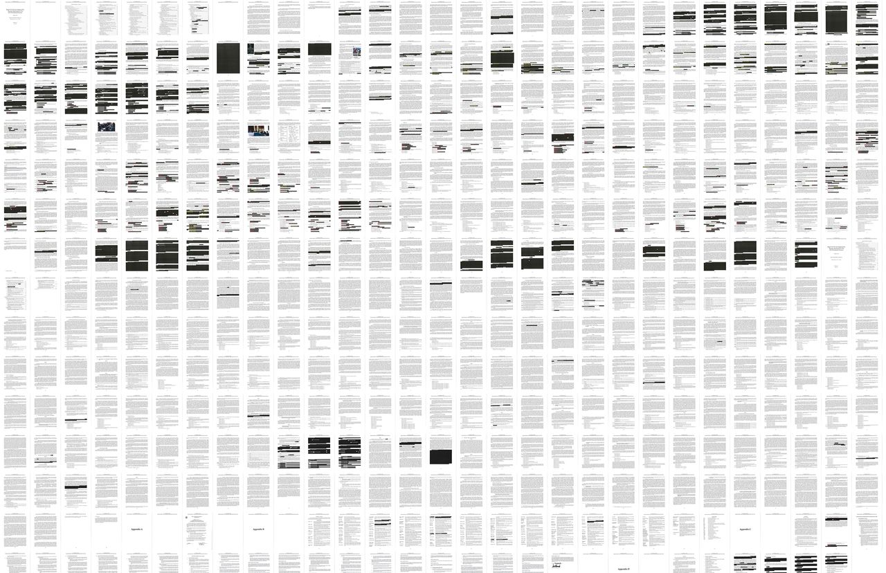 Mueller Report Is 448 Pages, Few Major Redactions