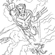 Wolverine Dibujos Para Colorear Videos Y Tutoriales Lecturas Infantiles Manualidades Para