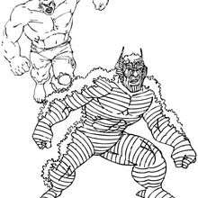 Dibujos Para Colorear Super Heroes. Amazing Imprimir