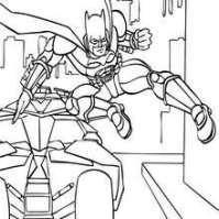 Batimovil Para Colorear Dibujos Para Colorear Batman En Su Batmvil