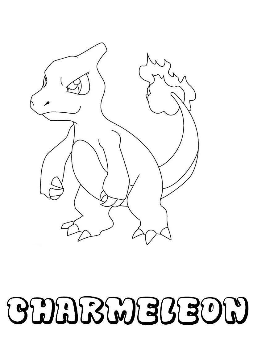 Pokemon Arcanine Coloring Pages Sketch Coloring Page