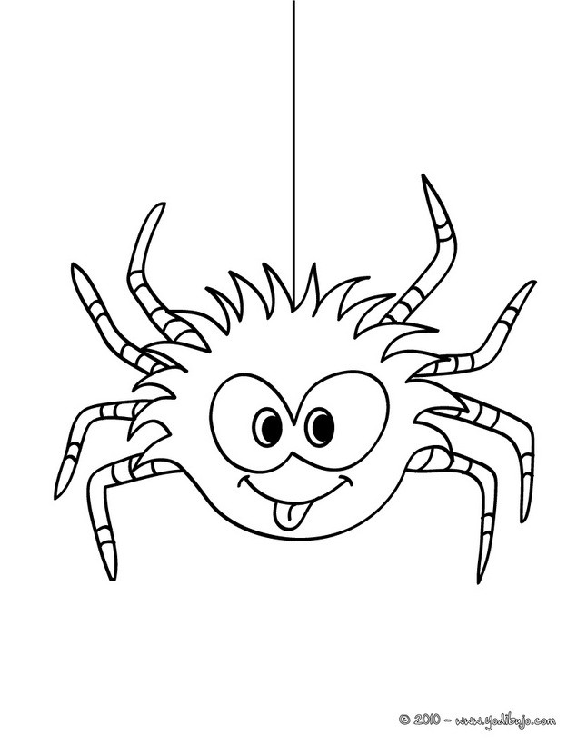Cute Spider Coloring Man Tumblr Coloring Pages