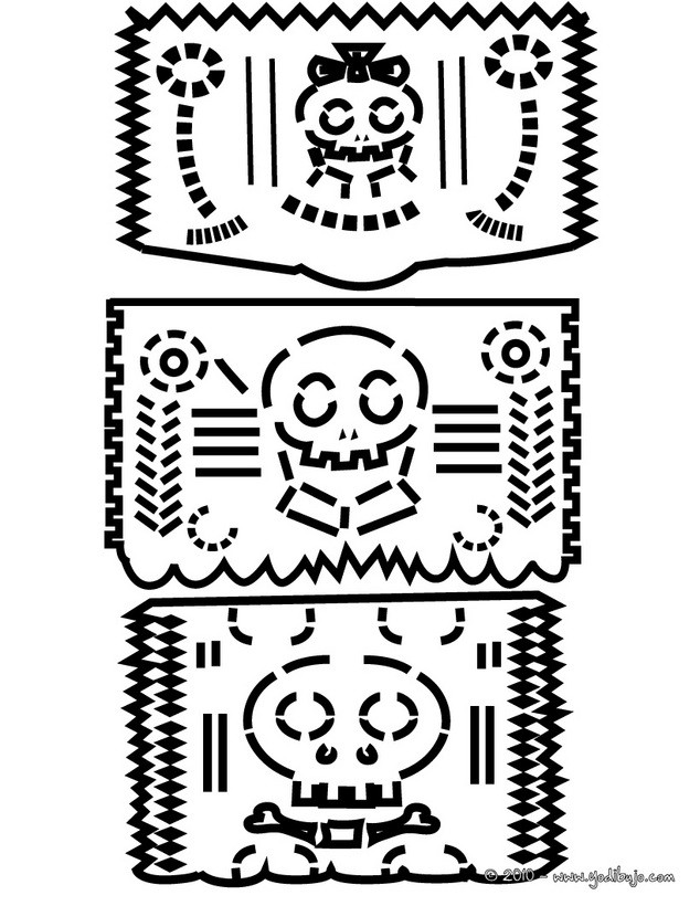 Dibujos Dia De Muertos A Color. Interesting Day Of The