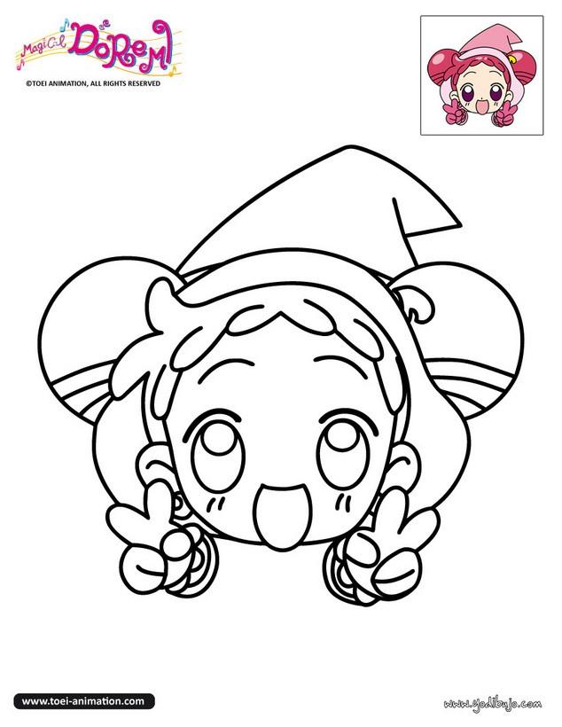 Dibujos Para Colorear Brujita Magical Doremi