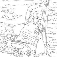 Dibujos Para Colorear Un Partido De Waterpolo