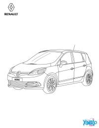 Dibujos para colorear nuevo scnic de perfil - es ...