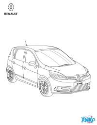 Dibujos para colorear nuevo scnic familiar - es.hellokids.com