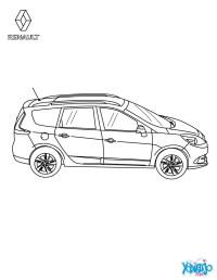 Dibujos para colorear coche scnic authentique vista area ...