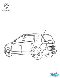 Dibujos para colorear lnea del renault scnic - es ...
