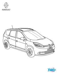 Dibujos para colorear renault scnic authentique - es ...