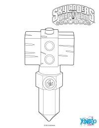 Dibujos para colorear life hammer, crystal trap