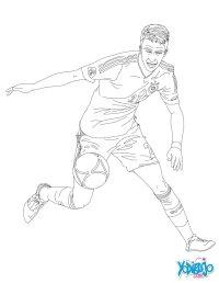 Dibujos Para Colorear De Porteros Dibujo De Un Portero De Ftbol