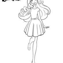 Barbie : Dibujos para Colorear, Juegos Gratuitos, NOTICIAS