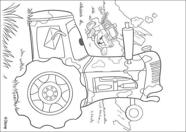 Dibujos para colorear cars 40 - eshellokids
