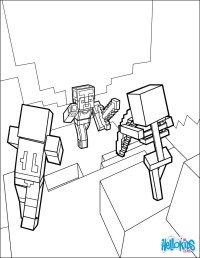 Dibujos para colorear peligrosas peleas de mazmorra - es ...
