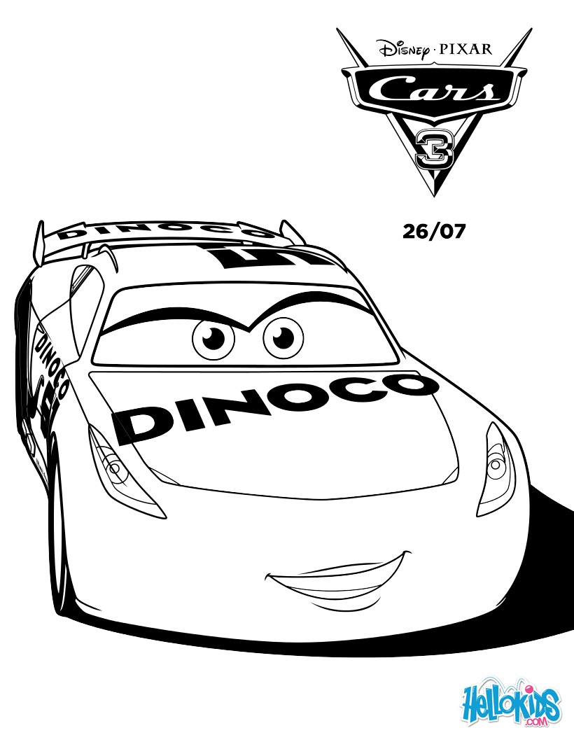 Lightning Mcqueen Coloring Pages And Guido  Dessincoloriage