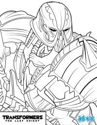 Megatron Para Colorear Dibujos Para Colorear De