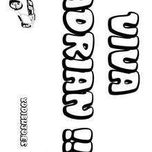 Pin Colorear Carolina Nombre Nina Dibujos Para Nombres on