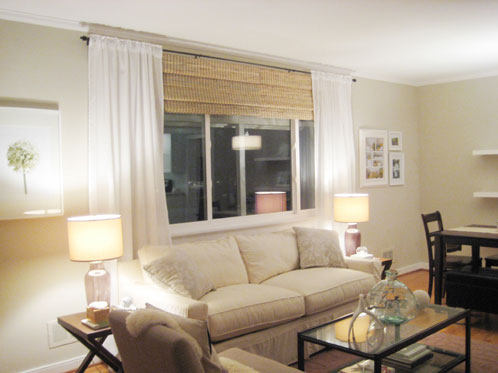 blinds for living room with curtains most beautiful designs how to choose the right shades and window white sheer hung on oil rubbed bronze curtain rod bamboo roman