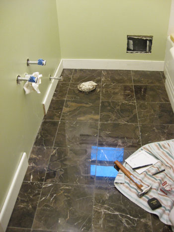 install baseboards trim