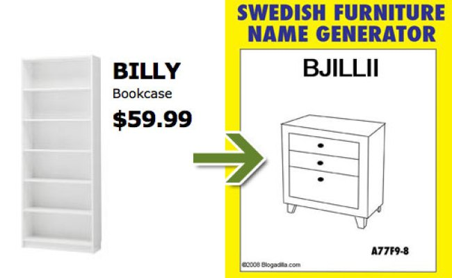 Weird Ikea Furniture Names Furniture Designs