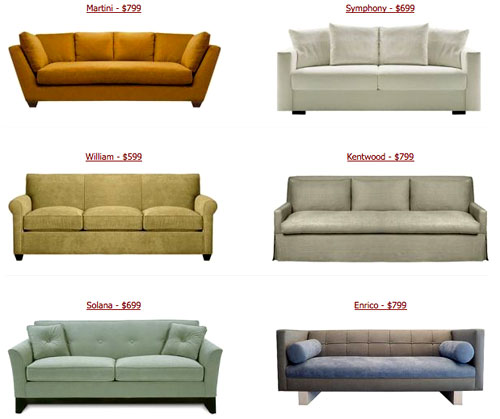 Young House Love Sofa Console: The Look For Less? Cheap Couches From Custom Sofa Design