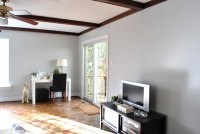 Huzzah! We Painted The Wood Trim In Our Living Room ...
