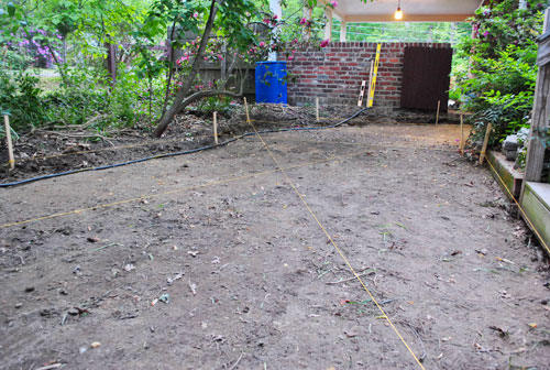 how to lay a paver patio gravel sand