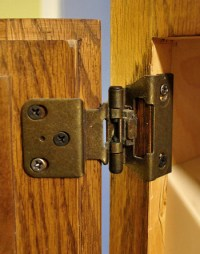 Concealed Hinges For Partial Inset Cabinet Doors
