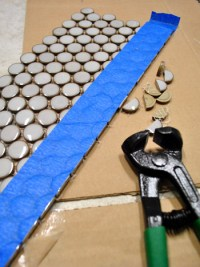 Cutting Penny Tile Can Be Tricky: What Worked For Us ...