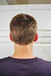 cut man's hair tips