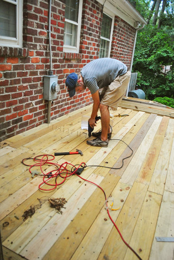 How To Build A Deck: Almost There! | Young House Love