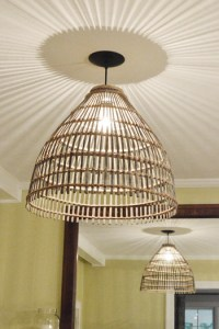 How To Turn A Basket Into A Pendant Light | Young House Love