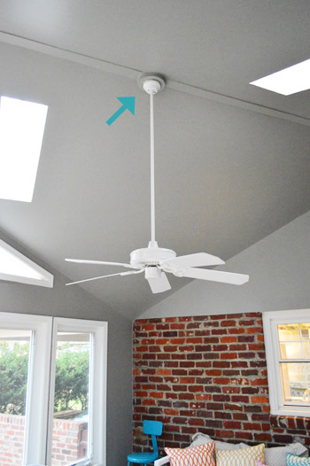Installing A Ceiling Fan Without Existing Wiring